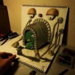 これはびっくり!動いたり立体的に見えたりなトリックアートまとめ