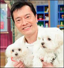 遠藤憲一と犬の画像