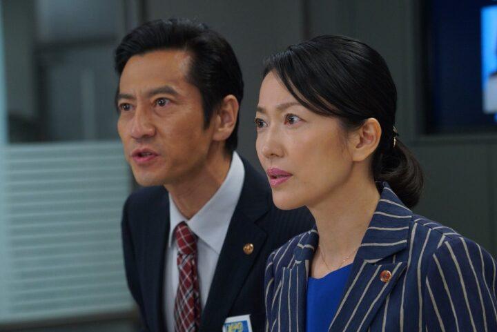 羽田美智子と津田寛治の画像