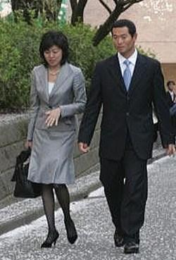 桑田真澄と真紀夫人の画像