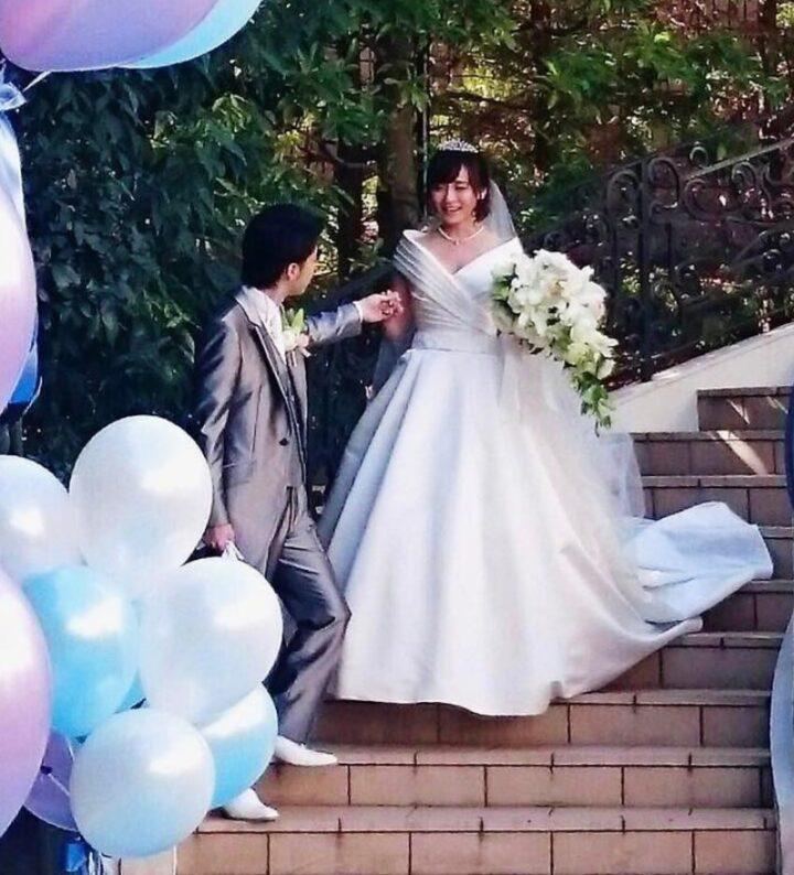 繁田美貴の結婚式画像