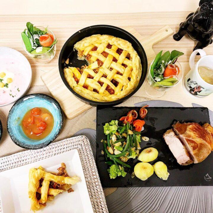 栗原ジャスティーンの食事画像