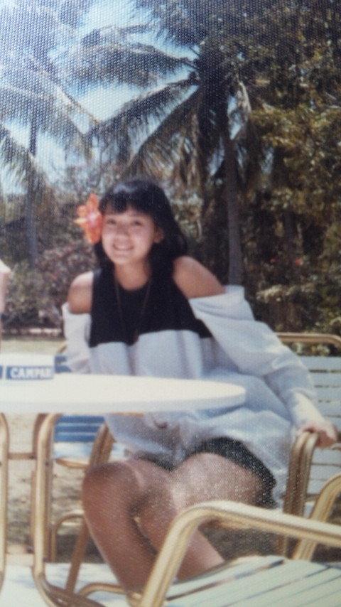 とよた真帆さんの若い頃の画像