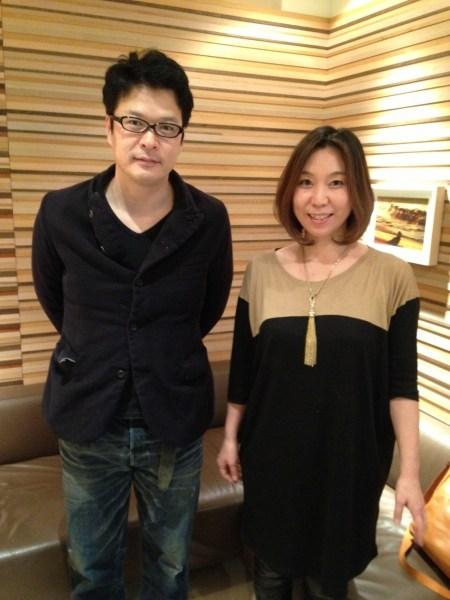 田中哲司と田所幸子の画像