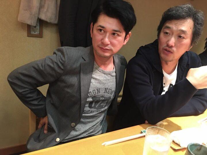 湯江タケユキと大鶴義丹の画像