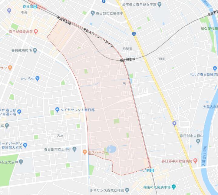 埼玉県春日部市のパンク事件