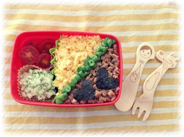 吉瀬美智子のお弁当画像