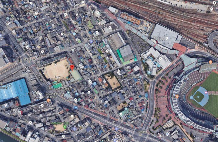平尾龍磨の逮捕場所画像
