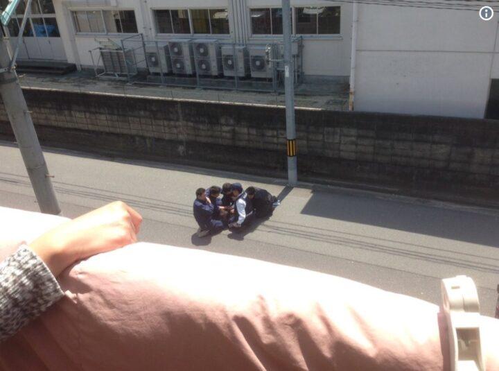 平尾龍磨の逮捕・確保の瞬間