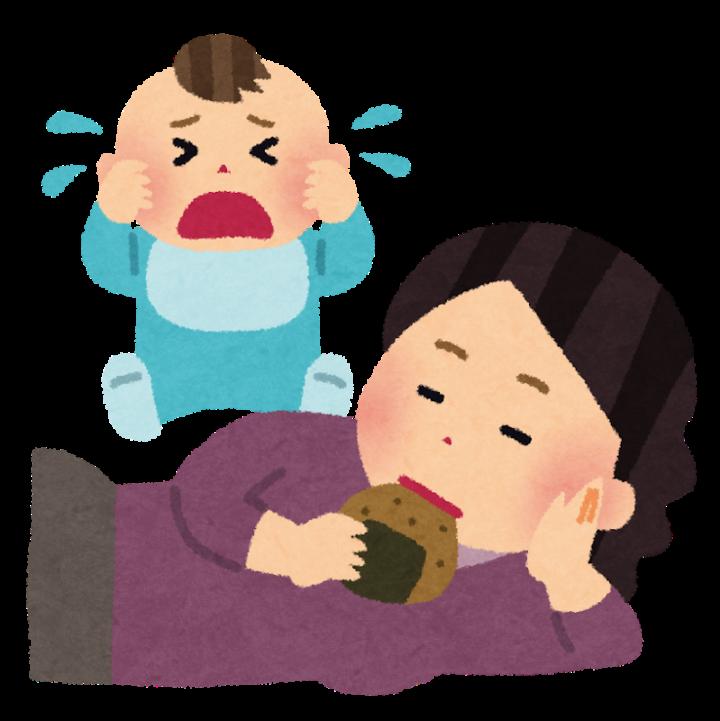 育児放棄の画像