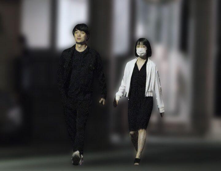 弘中綾香アナとToruの彼氏彼女画像